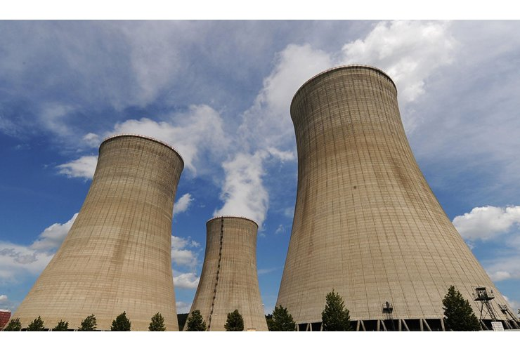 three power plants