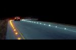 asphalt and road lighting